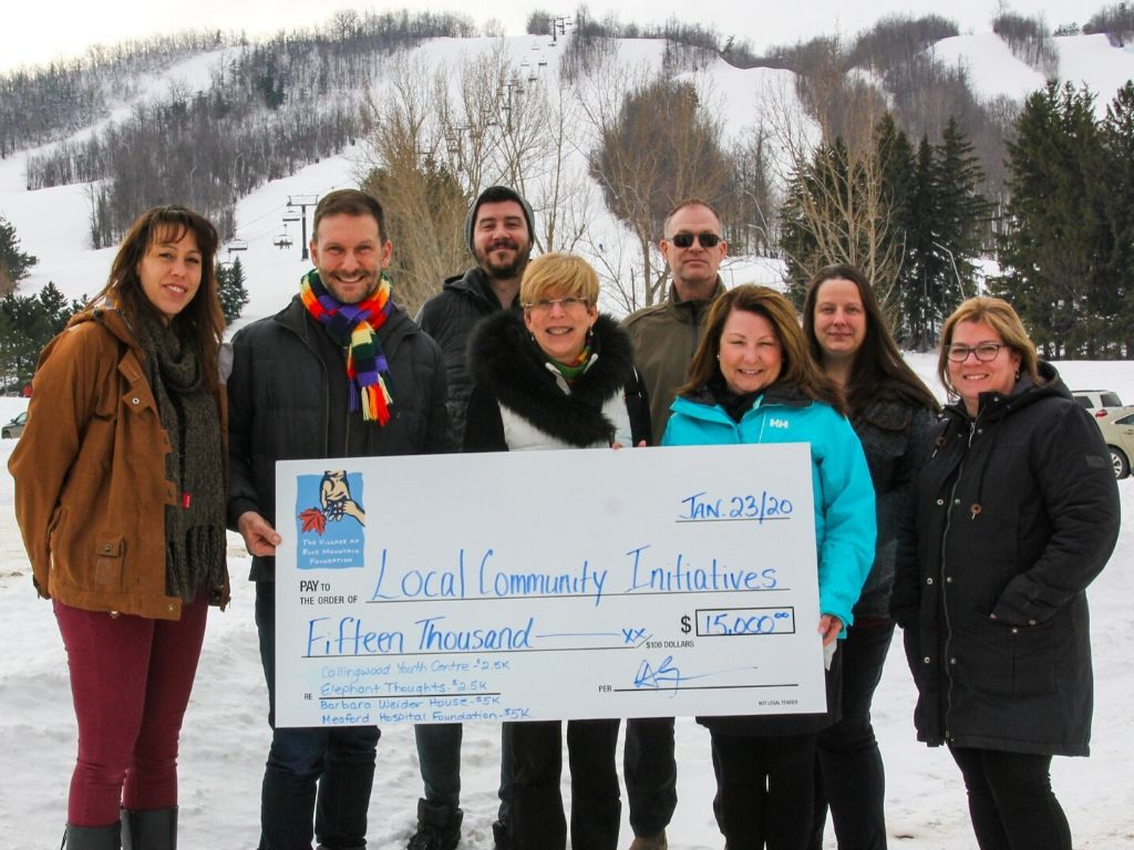 Blue Mountain Village Foundation (BMVF) Provides $15,000 in Community Grants