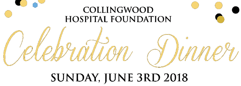 Collingwood Hospital Celebration Dinner