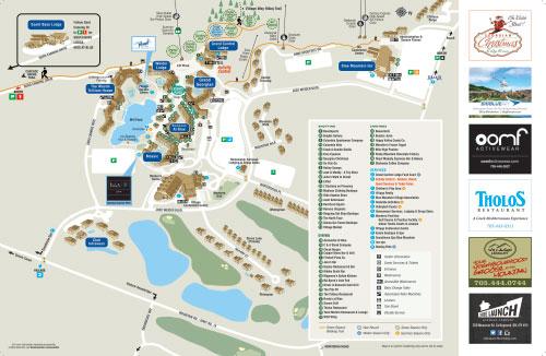 Blue Mountain Village Map BMVA   Parking & Deliveries